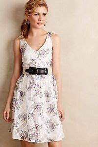 0beae2755a88 💥 New Anthropologie Peony Garden Party Dress Floral Size 6p Low ...