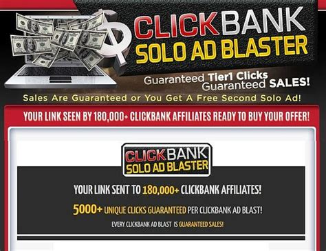 New Clickbank Solo Ad Blaster Make Passive Income With.
