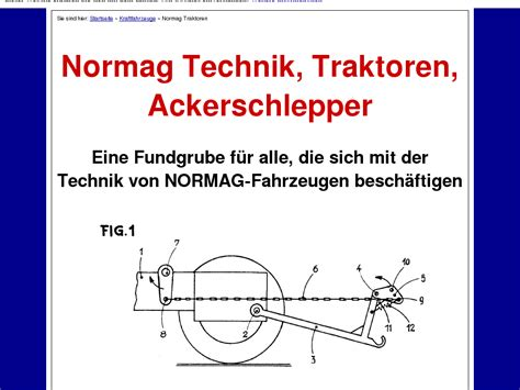 [click]normag Technik Traktoren Ackerschlepper - My-Reviews Net.