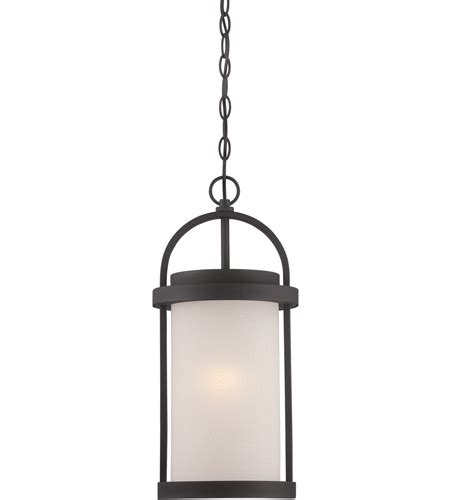 Nuvo 62-655  1-Led Textured Black Outdoor Hanging Fixture .