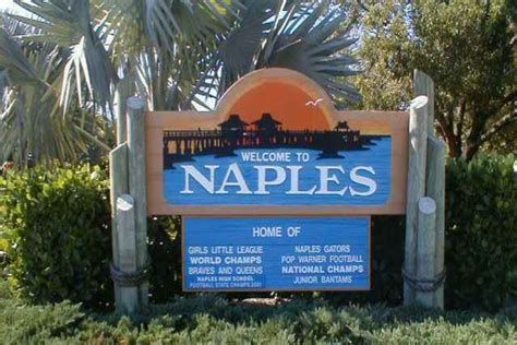 Naples Sign