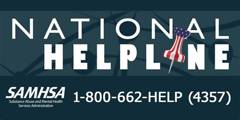 National Helpline Samhsa - Substance Abuse And Mental Health.