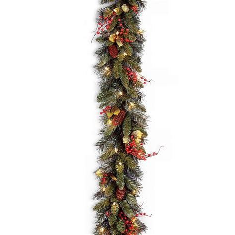 National Tree Pre-Lit 24 Classical Collection Wreath With .