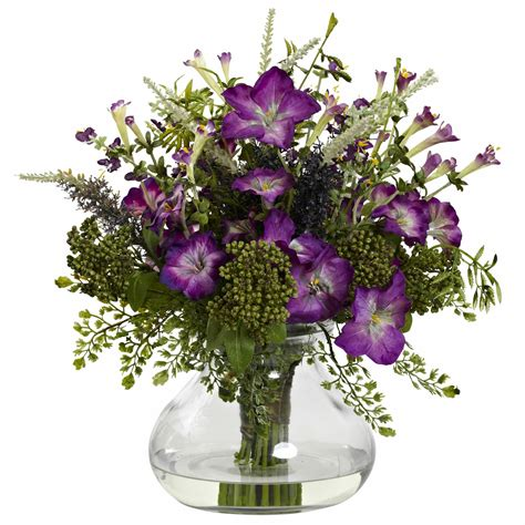 Nearly Natural Mixed Flower 22 Wreath  Reviews  Wayfair.