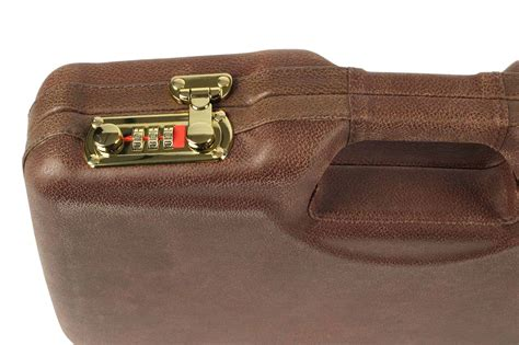 Negrini Leather  Faux Wood Model 1911 Handgun Case .