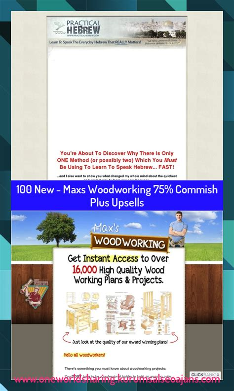 [pdf] New - Maxs Woodworking 75 Commish Plus Upsells Are Premium.