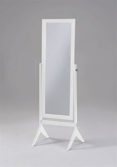New Bargains On Amerie Wooden Floor Mirror White.