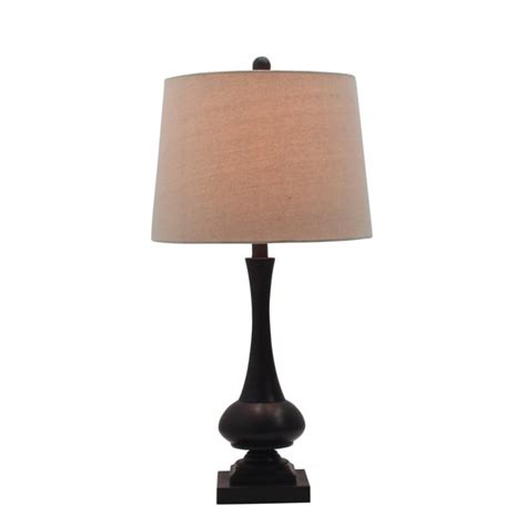 New Bargains On Genie Table Lamps In Oil Rubbed Bronze.
