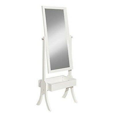 New Bargains On Powell Holland Cheval Mirror White.