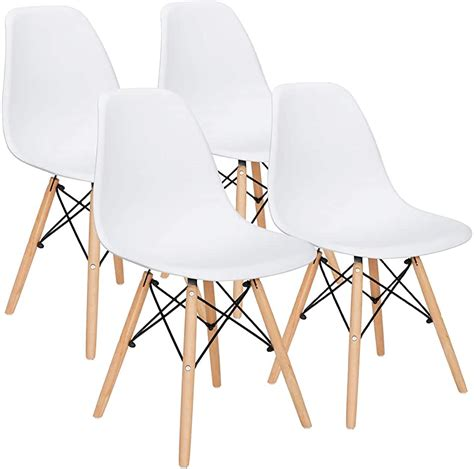 New Deal Alert Midcentury Modern Dsw Chairs Set Of 4 .