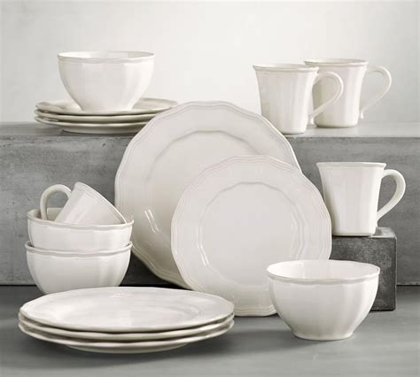 New Deals On Charlotte 16-Piece Dinnerware Set White.