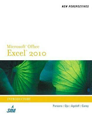 [click]new Perspectives On Microsoft Excel 2010 Introductory .