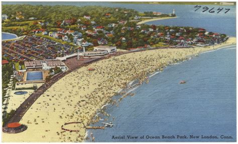 New London CT Ocean Beach