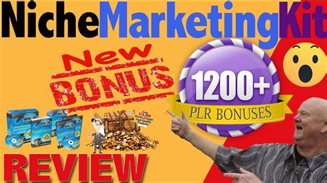 [click]niche Marketing Kit 2019 Review With Over 1200 Bonuses.