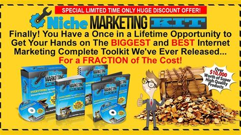 [click]niche Marketing Kit Review - Best Jvzoo Wso Review.