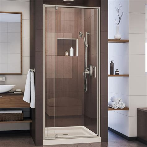 Nickel - Shower Doors - Showers - The Home Depot.