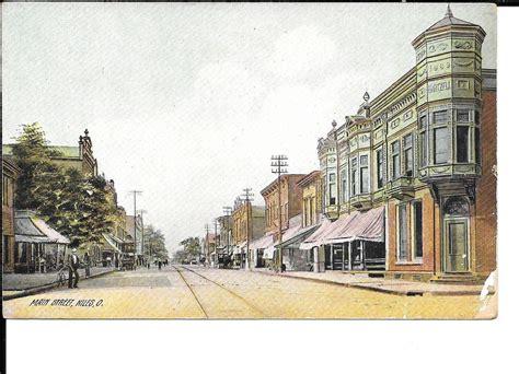 Niles OH Postcard