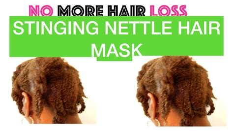 @ No More Hair Loss Stinging Nettle Hair Mask.