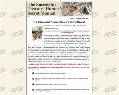 @ No-Fuss The Successful Treasure Hunter S Secret Manual .