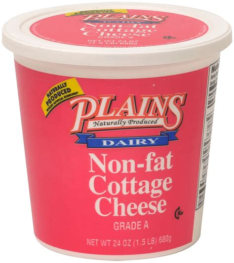 Non Fat Cottage Cheese Calories