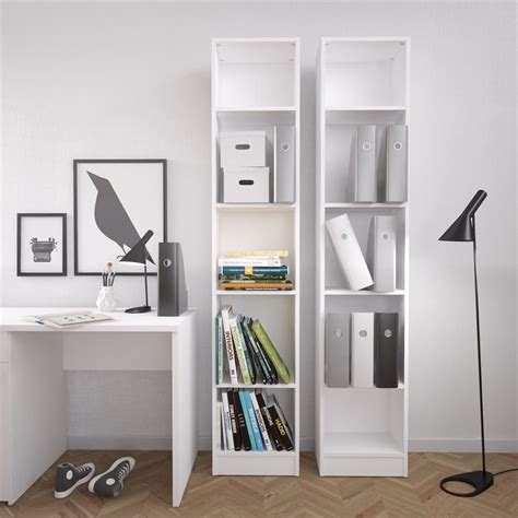 Northfield Bookcase White  Up To 70 Off.