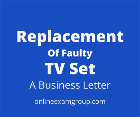 Notification Of Defects In And Repair Or Replacement Of Electronic.