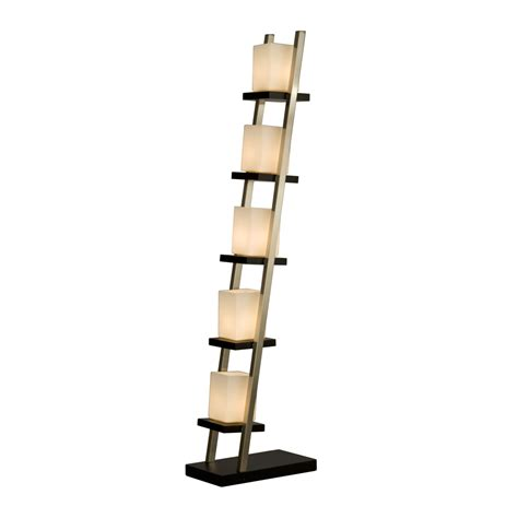 Nova Nova 11815 Escalier Floor Lamp- Dark Brown Wood .