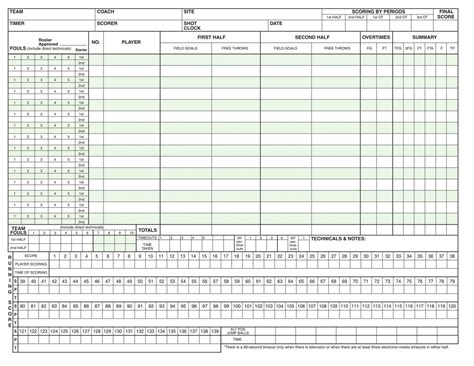 [pdf] Official Ncaa Basketball Scorebook.