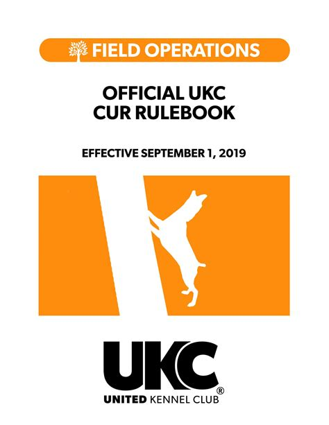 [pdf] Official Ukc Obedience Rulebook - United Kennel Club.