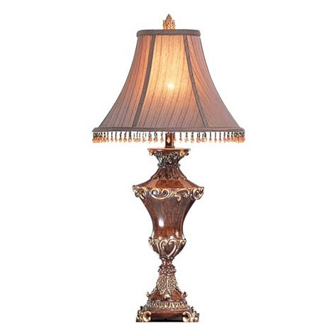Ok Lighting Ok-4171t Resemble Wood Table Lamp 31 H .
