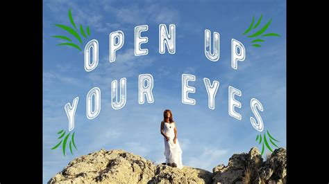 @ Open Up Your Eyes - Official Video.
