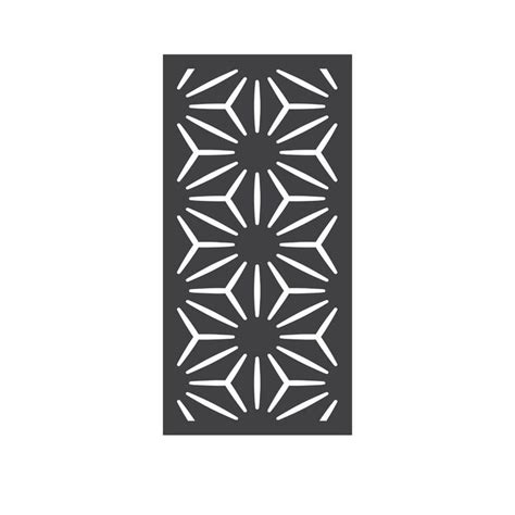 Outdeco 4 Ft H X 2 Ft W Star Anais Fence Panel  Wayfair.