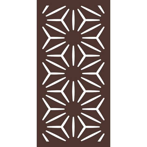 Outdeco 4 Ft H X 2 Ft W Star Anais Fence Panel  Wayfair