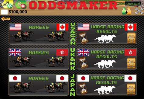 @ Oddsmaker Sportsbook Horse Racing  Casino - Apps On .