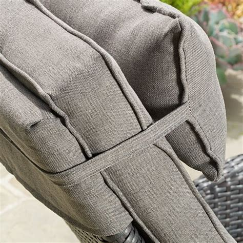 Odina Outdoor Recliner With Cushion Brown Contemporary .