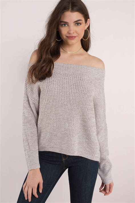 Off the Shoulder Sweaters
