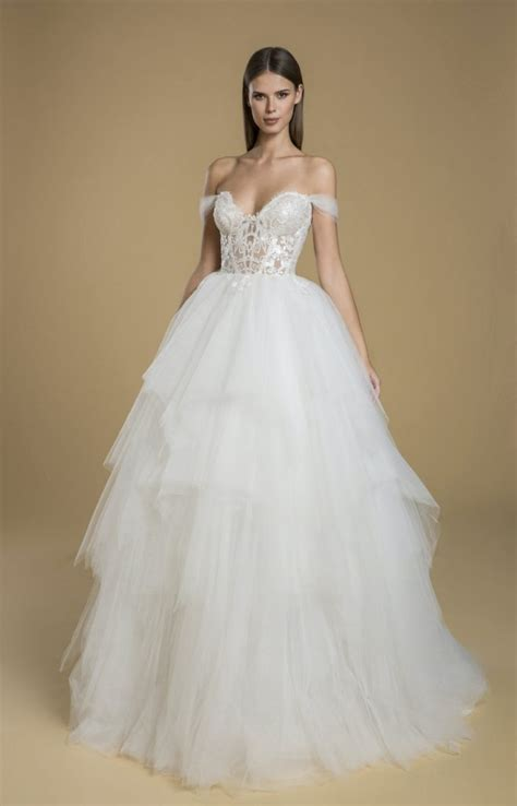 Off the Shoulder Wedding Ball Gown