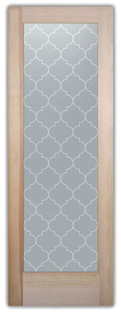 Ogee Door Negative - Etched Glass Doors By Sans Soucie Art .