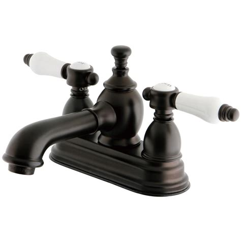 Oil Rubbed Bronze Bathroom Faucets - The Home Depot.