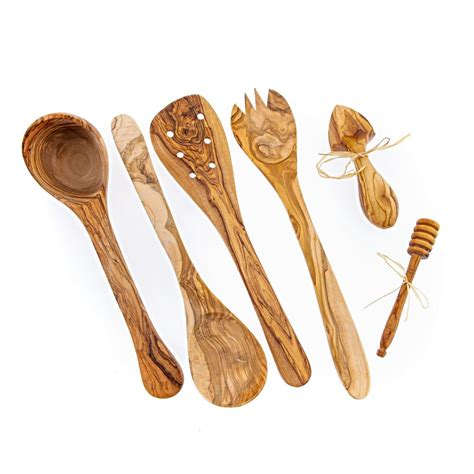 Olive Wood Utensils Kitchen Tools - Olive Wood Gifts.