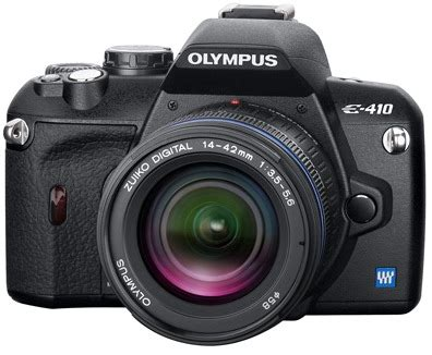Olympus E 410 Software