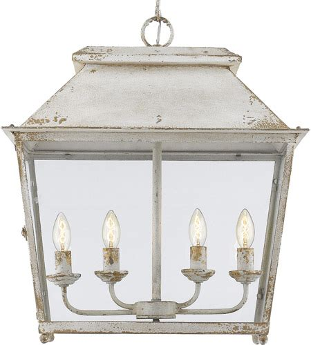 On Now 46 Off Abingdon 4-Light Pendant In Antique Ivory.
