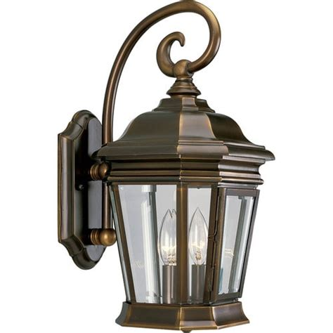 One Light Outdoor Wall Lantern In Oiled Bronze - Save .