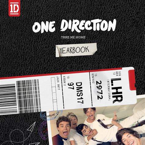 One Direction Deluxe Yearbook Edition