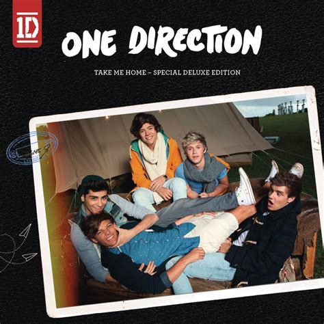 One Direction Take Me Home Deluxe Edition