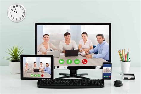 [click]online Meeting Software With Hd Video Conferencing .