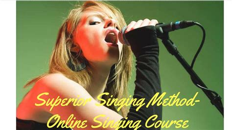 @ Online Singing Course Explained Superior Singing Method