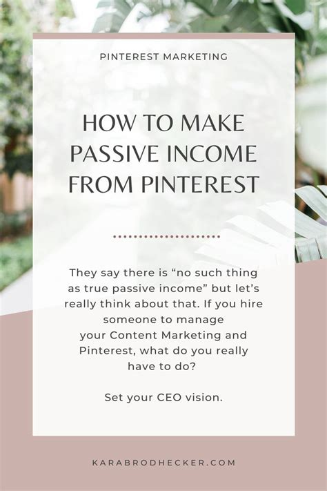 @ Online Passive Income Business Strategy Set Your Goal To .