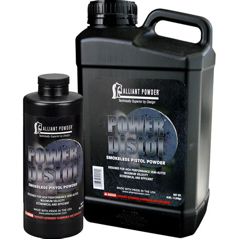 Onsale Power Pistol Powder Alliant Powder.