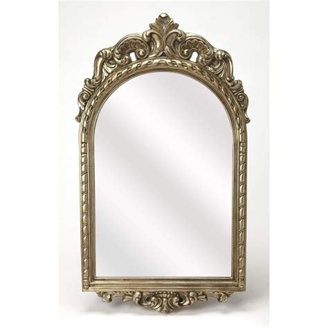 Ophelia Champagne Wall Mirror From Butler  4303396 .
